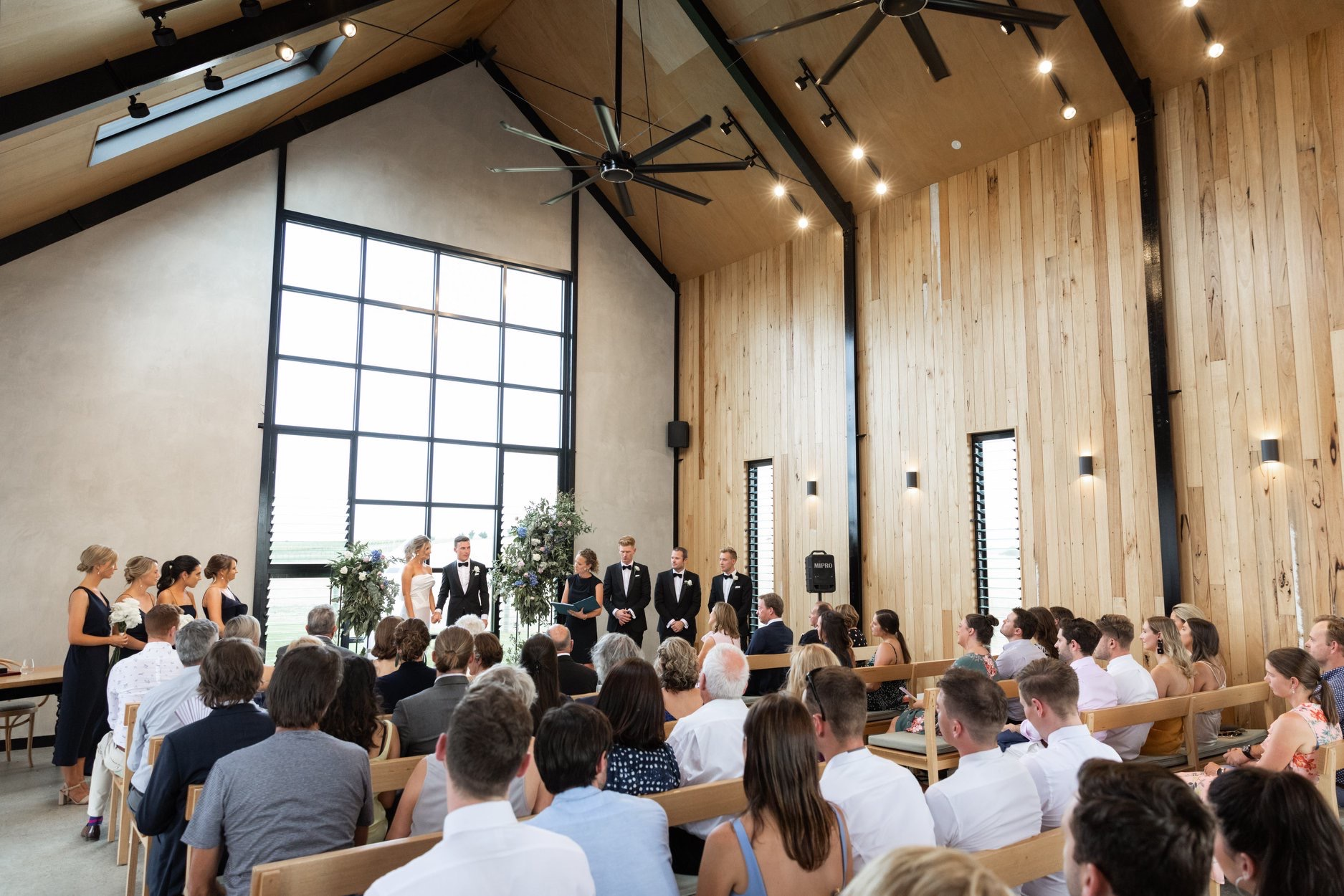 Wedding ceremony at Zonzo Estate Yarra Valley-yarra-valley-wedding-venues