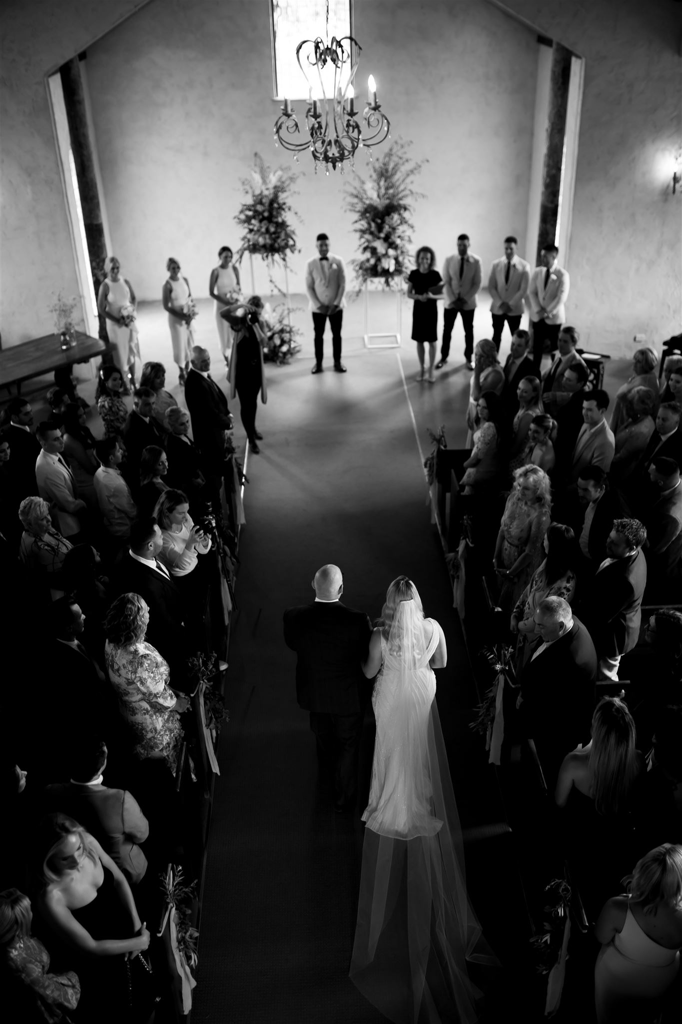 Wedding ceremony at Stones of the Yarra Valley-yarra-valley-wedding-venues